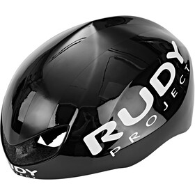 Rudy Project Boost Pro Kask rowerowy, black shiny-white matte